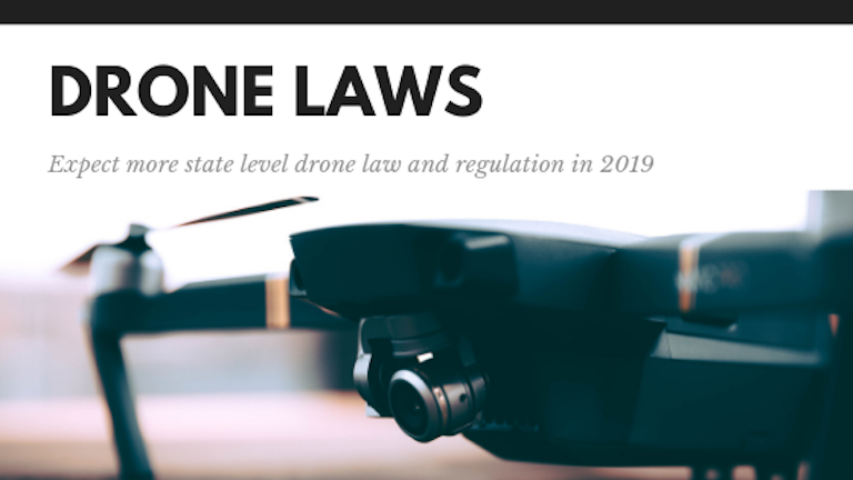 2019 state drone law trends