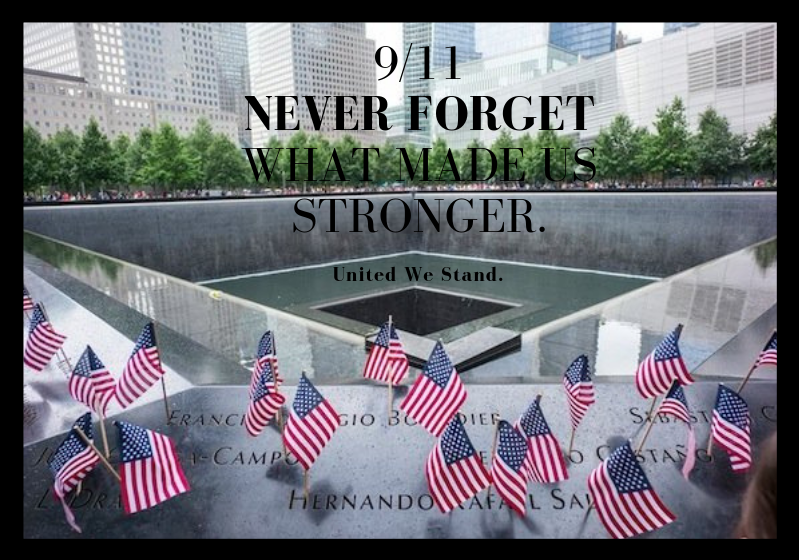 911 Memorial Never Forget
