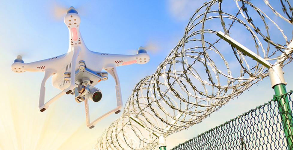 Drone-over-prison