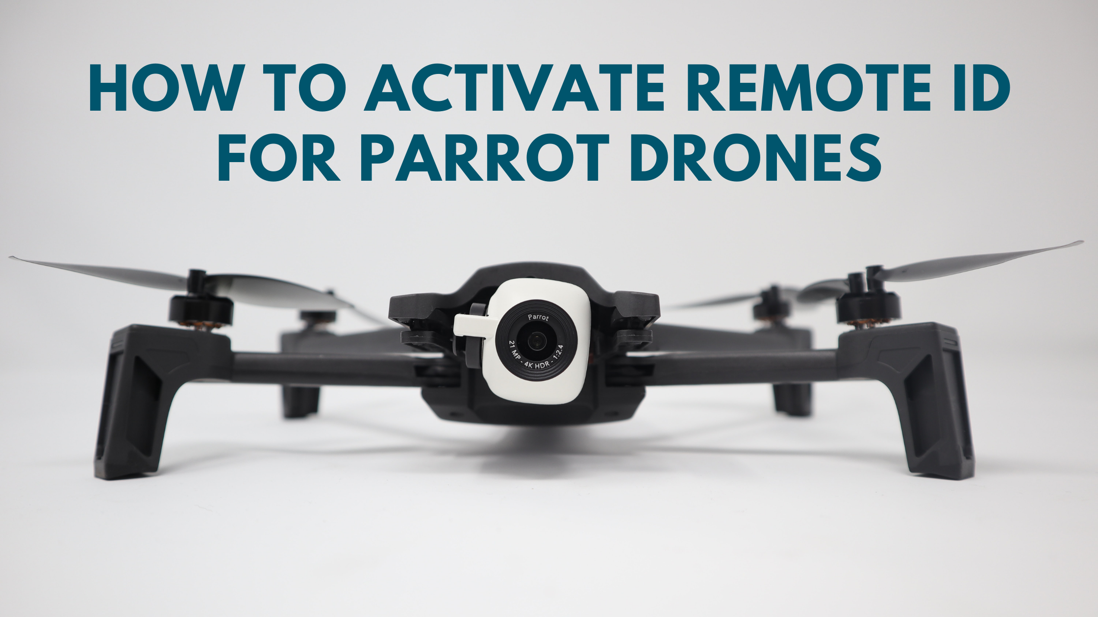 Activate Remote ID for Parrot brand drones