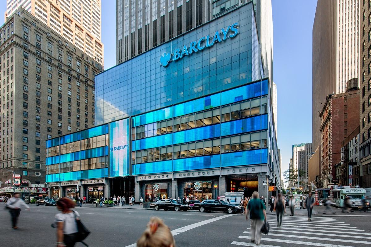 Barclays Bank HQ NYC