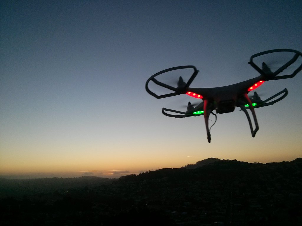 DOT will let drone fly at night over people