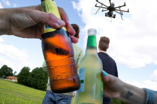 Do Not Drink and Drone