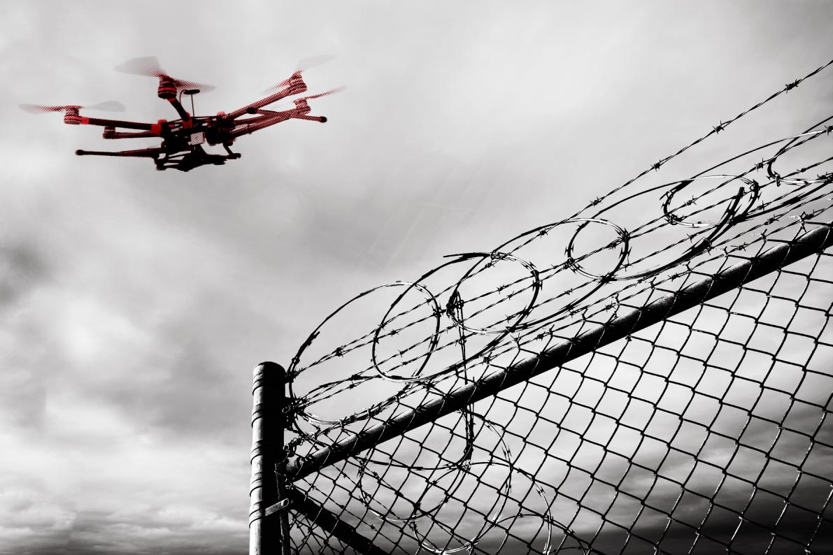 Drone priosn wire