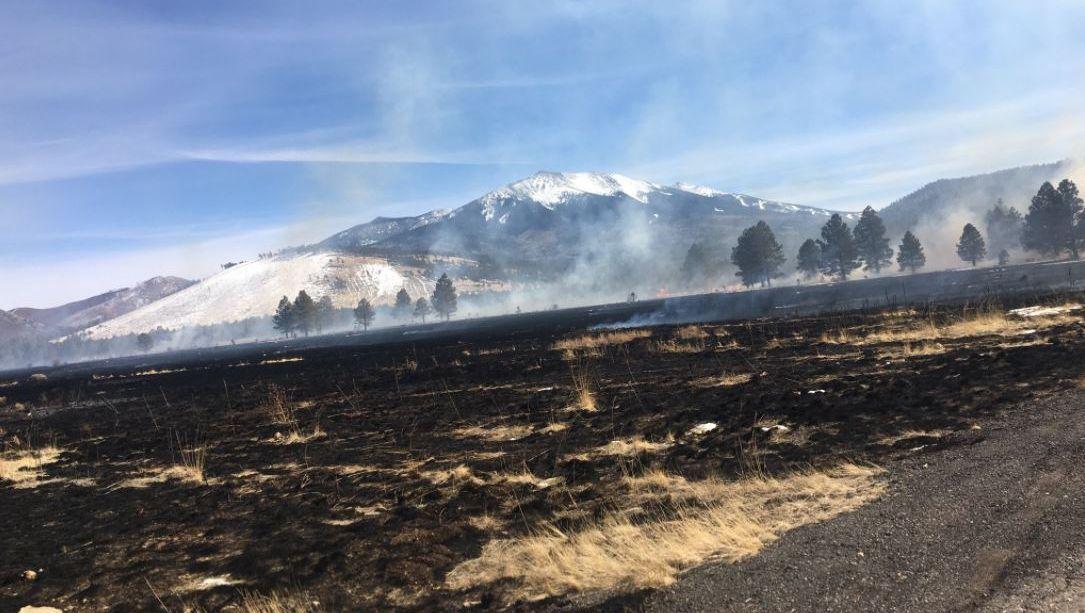 Drone starts fire Arizona