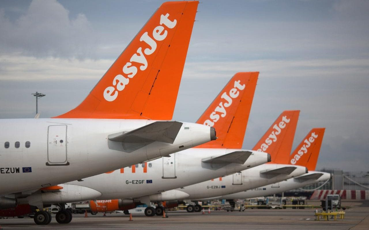 EasyJet__Passenger_Jets_London_Gatwick_Airport