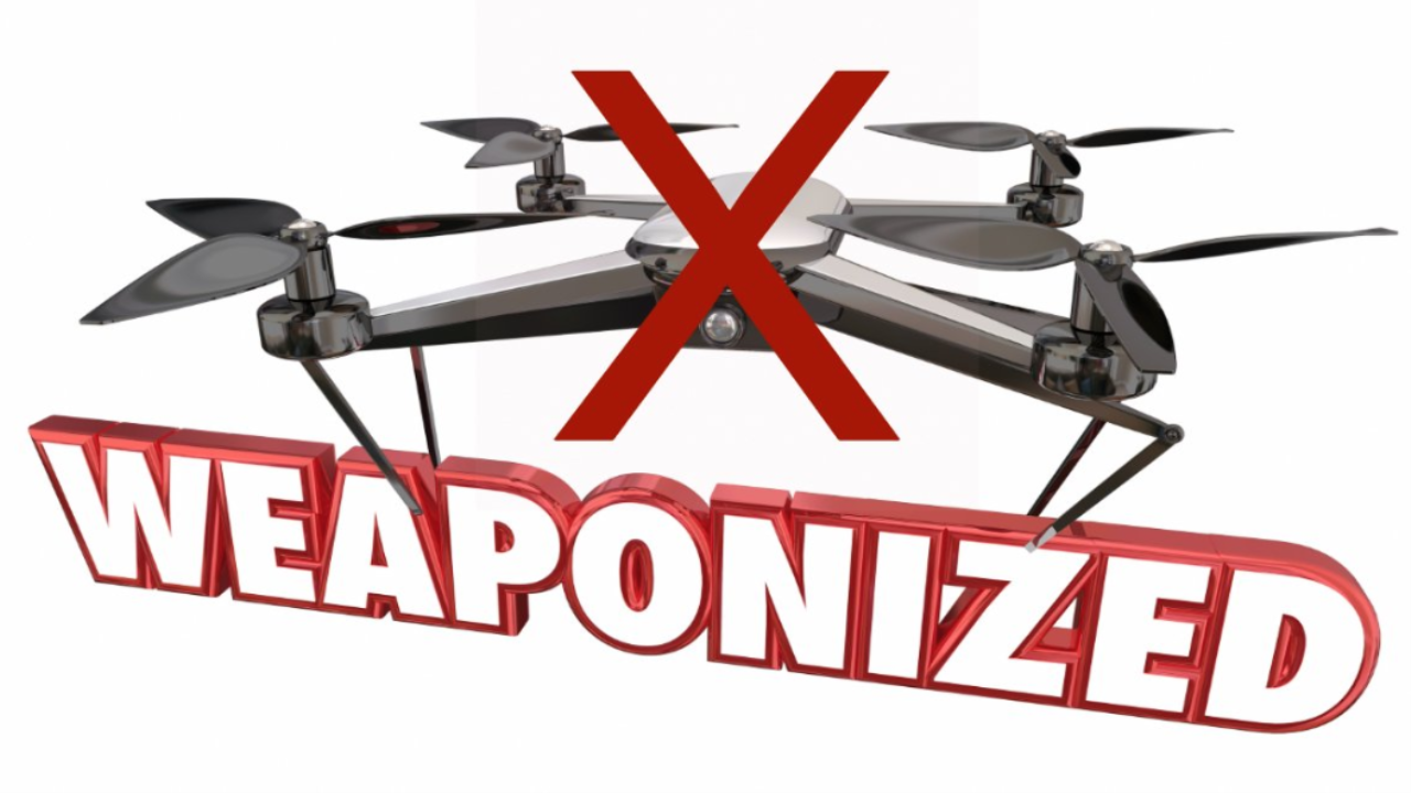 FAA Do NOT weaponize drones 2019