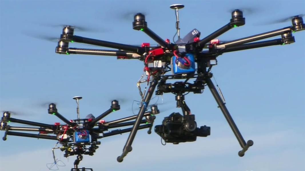 FAA increase in commercial drones