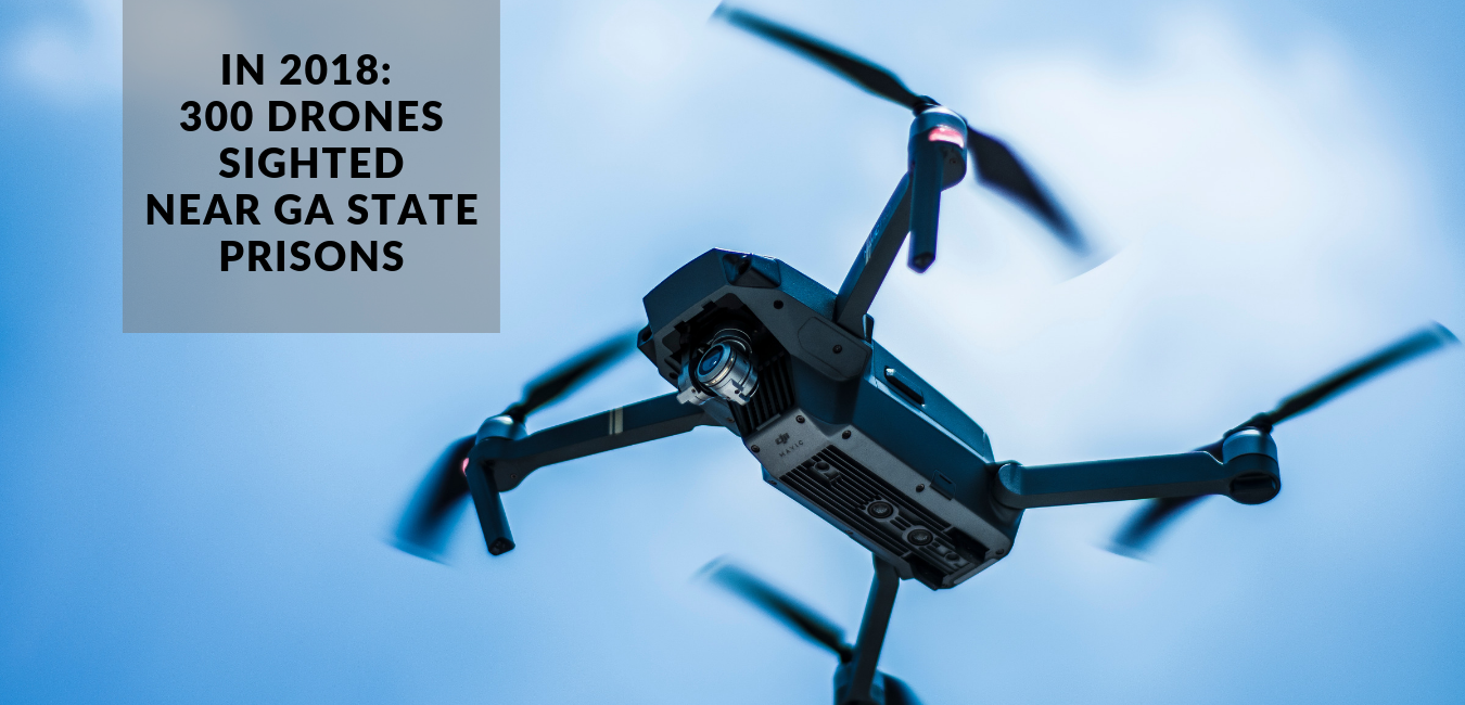 GA State Prison Drone Sightings, GA Drone Law