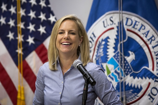 Kirstjen+Nielsen+DHS+Homeland+Security+Secretary