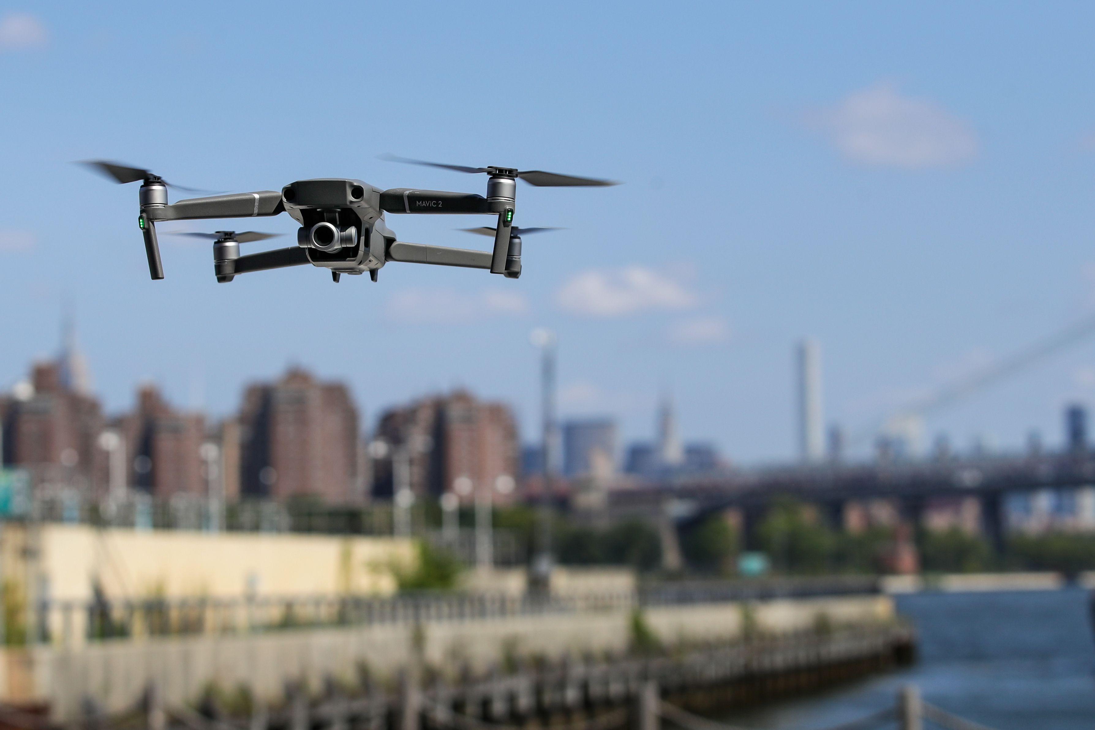 Man shoot down drone Long Island NY