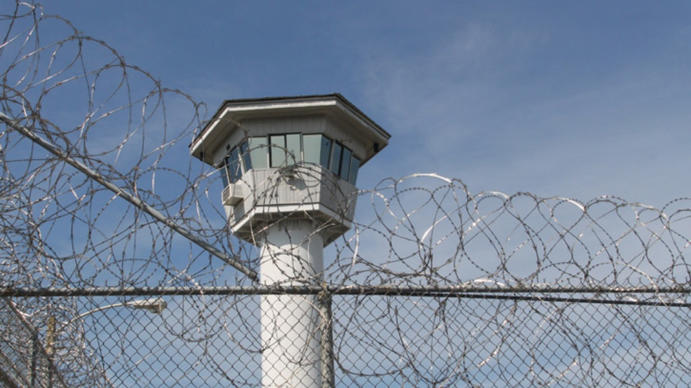 Prison fence tower