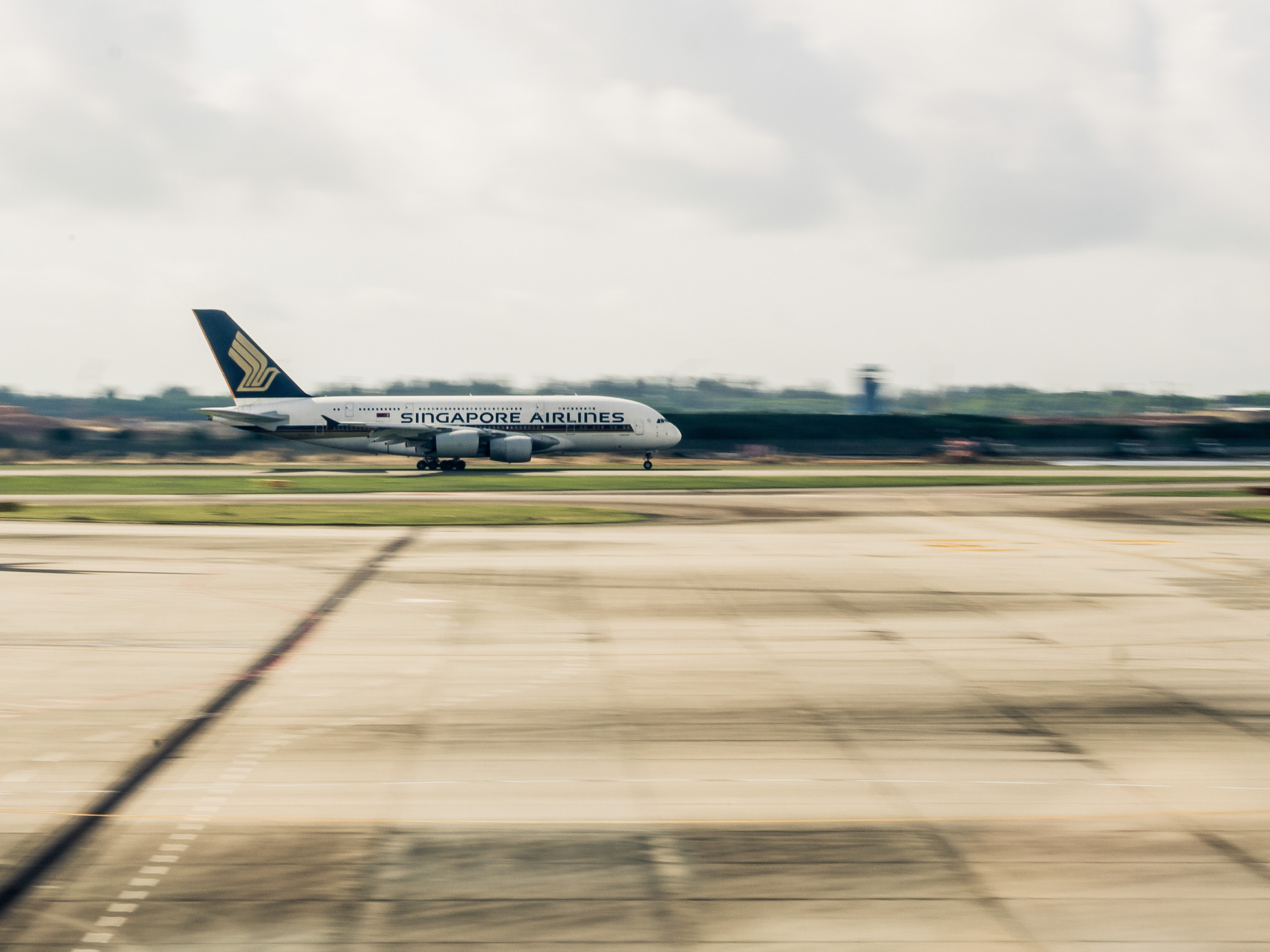 Singapore Changi Airport Drone