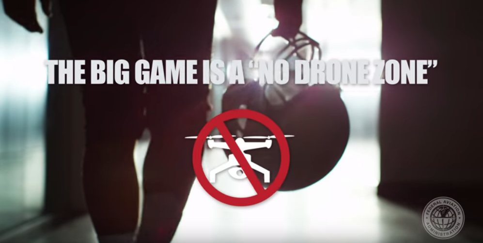 Super Bowl LIII No Drone Zone 2019 ATL