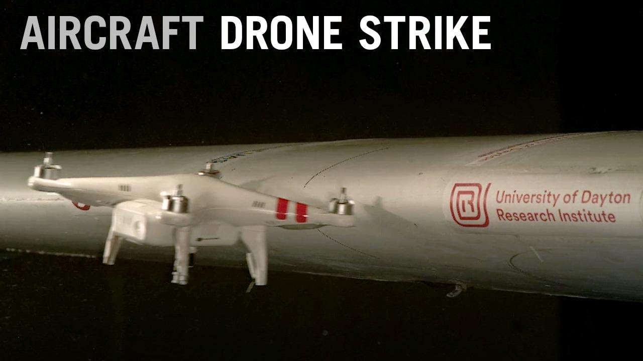 UDRI Drone Aircraft Impact test