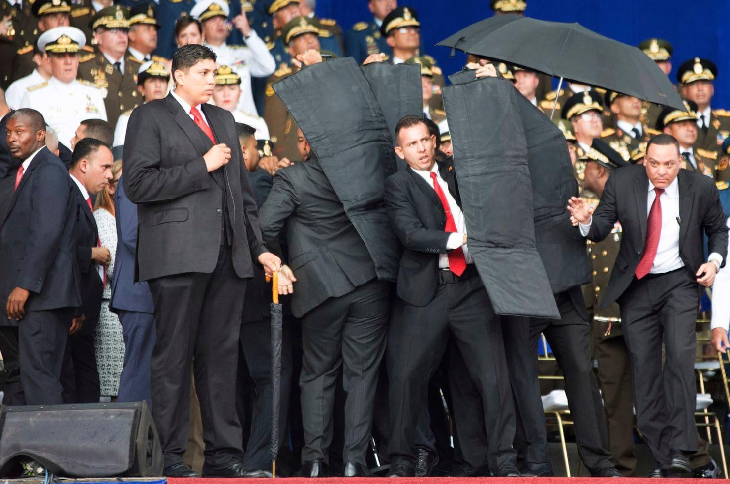Venezuelan President Maduro drone attack