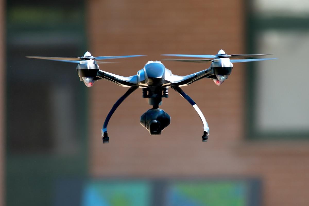 drone closeup