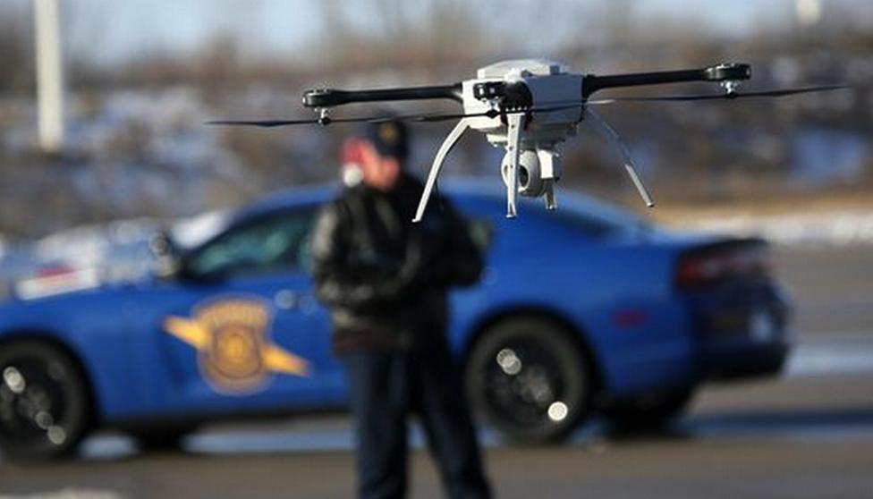 law enforcement-drones