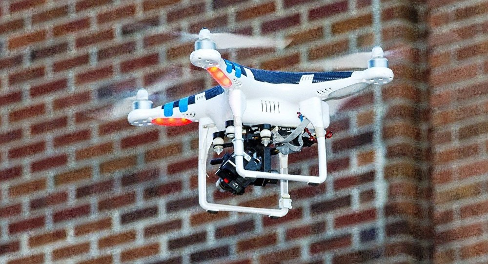 prisons using drones